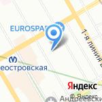 Капитель на карте Санкт-Петербурга