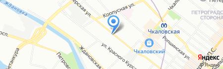 ЭКРО на карте Санкт-Петербурга