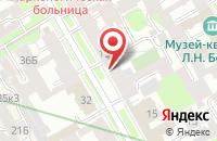 Схема проезда до компании Альянс в Санкт-Петербурге