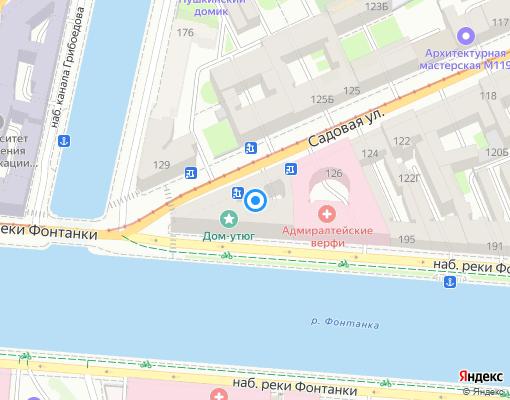 Товарищество собственников жилья «ТСЖ Садовая ул., д. 128» на карте Санкт-Петербурга