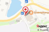 Схема проезда до компании Пятёрочка в Порошкино
