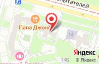Схема проезда до компании Военно-учетный стол в Красноармейске