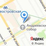 Trezzini на карте Санкт-Петербурга