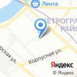 Центр содействия семейному воспитанию №12 на карте Санкт-Петербурга