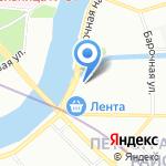 Ленинградская Областная Электросетевая Компания на карте Санкт-Петербурга