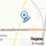 Троллейбусный парк №1 на карте Санкт-Петербурга
