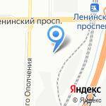 Мир Авто-Ленинский на карте Санкт-Петербурга