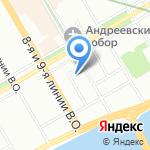 Счастливый Случай на карте Санкт-Петербурга