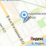 Андрейка на карте Санкт-Петербурга