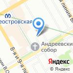 Православная общеобразовательная частная школа семьи Шостаковичей на карте Санкт-Петербурга