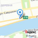 Теплосистемы на карте Санкт-Петербурга