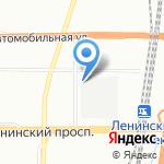 ТИСС на карте Санкт-Петербурга
