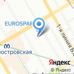 Shelfort на карте Санкт-Петербурга