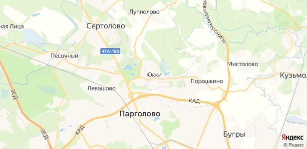 Юкки на карте
