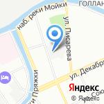 Магазин натуральных сладостей на карте Санкт-Петербурга