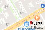 Схема проезда до компании Все для шитья и рукоделия в Санкт-Петербурге