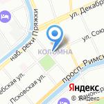 Центр социальной помощи семье и детям Адмиралтейского района г. Санкт-Петербурга на карте Санкт-Петербурга
