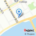 Concord Restaurants & Banqueting на карте Санкт-Петербурга