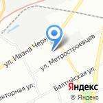Реал-Спорт на карте Санкт-Петербурга