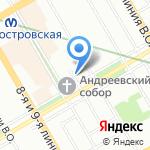 Эго на карте Санкт-Петербурга