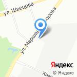 Элизиум на карте Санкт-Петербурга