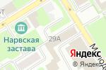 Схема проезда до компании ПРОСОФТ ТРЕЙДИНГ в Санкт-Петербурге