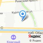 IVVI на карте Санкт-Петербурга