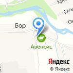 Авенсис на карте Санкт-Петербурга