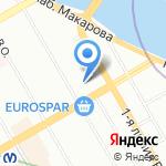 Миста на карте Санкт-Петербурга