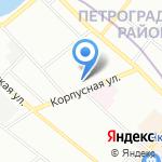Детский сад №24 на карте Санкт-Петербурга
