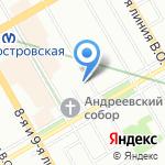 Био Скульптурный Гель Питер на карте Санкт-Петербурга