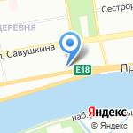 Приморский культурный центр на карте Санкт-Петербурга