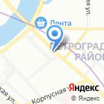 Архитектурное бюро Вячеслава Гедуева на карте Санкт-Петербурга