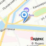 Адмиралтейские верфи на карте Санкт-Петербурга