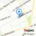 Дежёне на карте Санкт-Петербурга