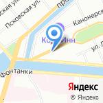 ТЕКОНТ на карте Санкт-Петербурга
