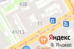 Схема проезда до компании Миста в Санкт-Петербурге