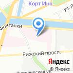 Противотуберкулезный диспансер №12 Адмиралтейского района на карте Санкт-Петербурга