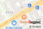 Схема проезда до компании Veloodejda.ru в Санкт-Петербурге