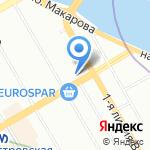 Vivaldi на карте Санкт-Петербурга