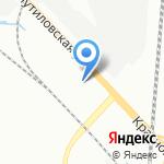 Изолит на карте Санкт-Петербурга