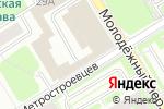 Схема проезда до компании Кристалл, ФГУП в Санкт-Петербурге