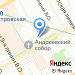Развивайка на карте Санкт-Петербурга
