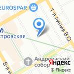 Эстетик Клуб на карте Санкт-Петербурга