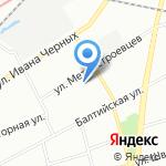 ЛЕТУС на карте Санкт-Петербурга