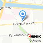 Скорая медицинская помощь на карте Санкт-Петербурга