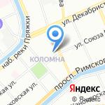 Ильнат на карте Санкт-Петербурга