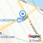 КОНТОРСКИЙ ДОМ на карте Санкт-Петербурга