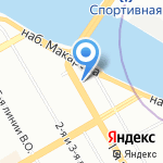 DALEX-VIP на карте Санкт-Петербурга