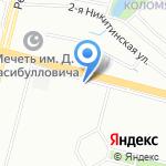 Новые Коломяги на карте Санкт-Петербурга